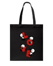 Love Panda Tote Bag thumbnail