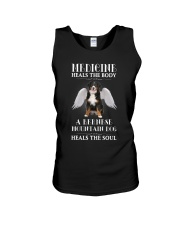 Bernese Mountain Dog - Medicine of the soul Unisex Tank thumbnail