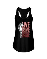 Horse Live Love Ride Ladies Flowy Tank thumbnail