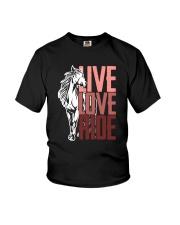 Horse Live Love Ride Youth T-Shirt thumbnail