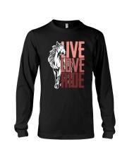 Horse Live Love Ride Long Sleeve Tee thumbnail