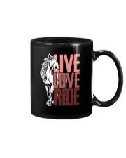 Horse Live Love Ride Mug thumbnail