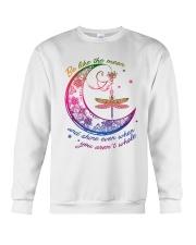 Dragonfly Be Like The Moon T5TE Crewneck Sweatshirt tile