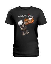 German Shepherd Anti Ladies T-Shirt thumbnail