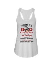 Dogs My Child Ladies Flowy Tank thumbnail