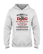 Dogs My Child Hooded Sweatshirt thumbnail