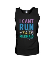 Mermaid I Can't Run Unisex Tank thumbnail
