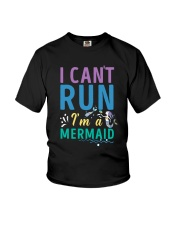 Mermaid I Can't Run Youth T-Shirt tile