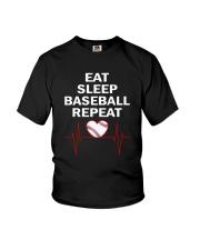 Baseball Repeat Youth T-Shirt thumbnail