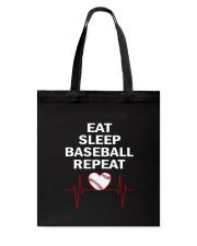 Baseball Repeat Tote Bag thumbnail