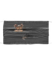 Yorkshire Terrier Striped T8212 Cloth face mask front