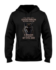 Wolf Good Person Hooded Sweatshirt thumbnail