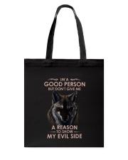 Wolf Good Person Tote Bag thumbnail