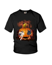Halloween - French Bulldog Youth T-Shirt tile