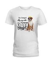 Boxer Forever In My Heart Ladies T-Shirt thumbnail
