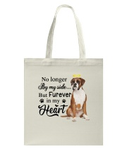 Boxer Forever In My Heart Tote Bag thumbnail