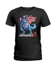 AMERICASAURUS Ladies T-Shirt thumbnail