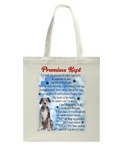 Great Dane - Promise kept Tote Bag thumbnail