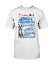 Great Dane - Promise kept Classic T-Shirt front