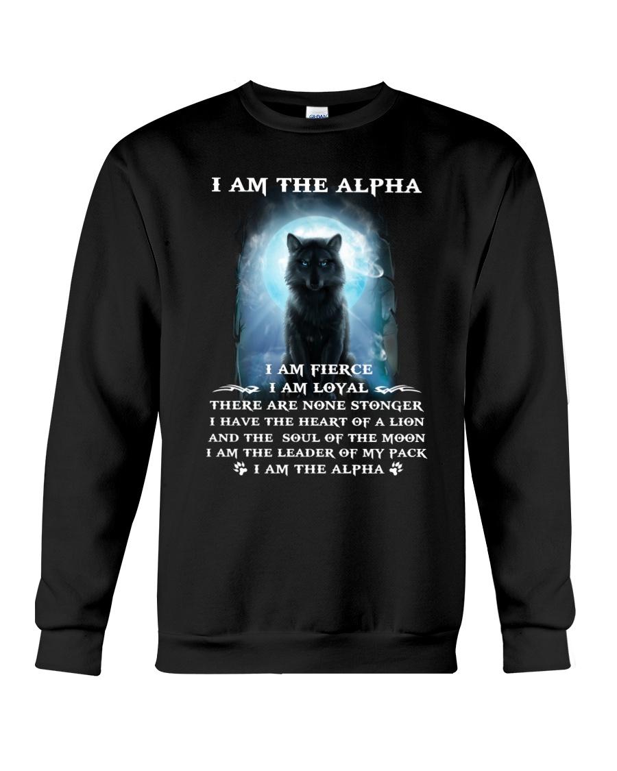 Wolf - I am the Alpha Crewneck Sweatshirt