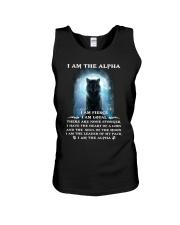 Wolf - I am the Alpha Unisex Tank thumbnail