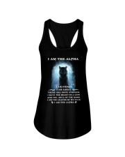 Wolf - I am the Alpha Ladies Flowy Tank thumbnail