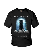 Wolf - I am the Alpha Youth T-Shirt thumbnail