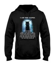 Wolf - I am the Alpha Hooded Sweatshirt thumbnail