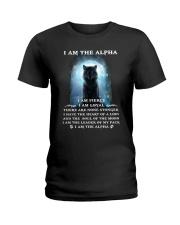 Wolf - I am the Alpha Ladies T-Shirt thumbnail