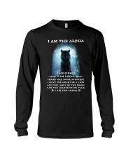 Wolf - I am the Alpha Long Sleeve Tee thumbnail