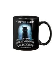 Wolf - I am the Alpha Mug thumbnail