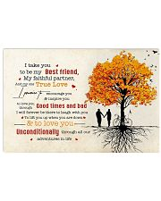 Family Husband and Wife Unconditionally 17x11 Poster front
