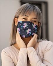 Unicorn Hologram G82623 Cloth face mask aos-face-mask-lifestyle-17