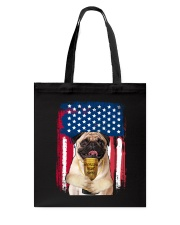 Pug - World's best dad Tote Bag thumbnail