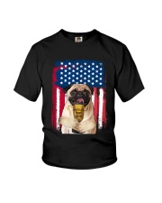 Pug - World's best dad Youth T-Shirt thumbnail