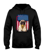 Pug - World's best dad Hooded Sweatshirt thumbnail