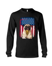 Pug - World's best dad Long Sleeve Tee thumbnail