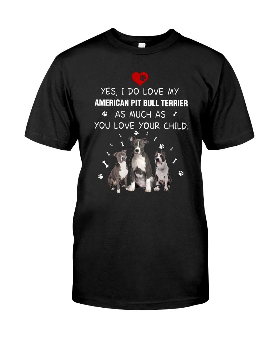 NYX - My American Pit Bull Terrier - 0904 Classic T-Shirt
