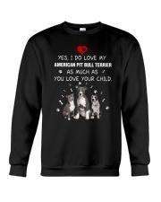 NYX - My American Pit Bull Terrier - 0904 Crewneck Sweatshirt thumbnail