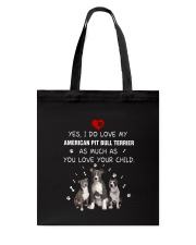 NYX - My American Pit Bull Terrier - 0904 Tote Bag thumbnail