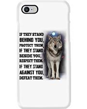 Wolf Camp Mau White Phone Case thumbnail