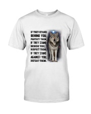 Wolf Camp Mau White Classic T-Shirt front