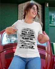 I know good men still exist Ladies T-Shirt apparel-ladies-t-shirt-lifestyle-01