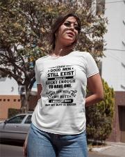I know good men still exist Ladies T-Shirt apparel-ladies-t-shirt-lifestyle-02