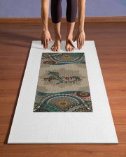 Unicorn Mandala T5TF Yoga Mat 24x70 (vertical) aos-yoga-mat-lifestyle-26