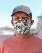 Motorbike Tropical Vintage T824 Cloth face mask aos-face-mask-lifestyle-06