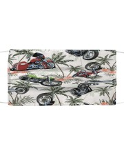 Motorbike Tropical Vintage T824 Cloth face mask front