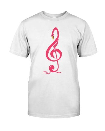 Flamingo Music Note