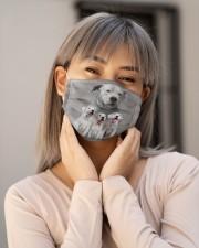 Awesome Dogo Argentino G82750 Cloth face mask aos-face-mask-lifestyle-17