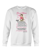 Cat Dear Mom Crewneck Sweatshirt thumbnail